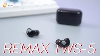 REMAX TWS 5 | Tai Nghe TrueWireless 600K Có Những Gì ? Chất Âm Tốt , Pin Trâu , Đàm Thoại Dễ Dàng!