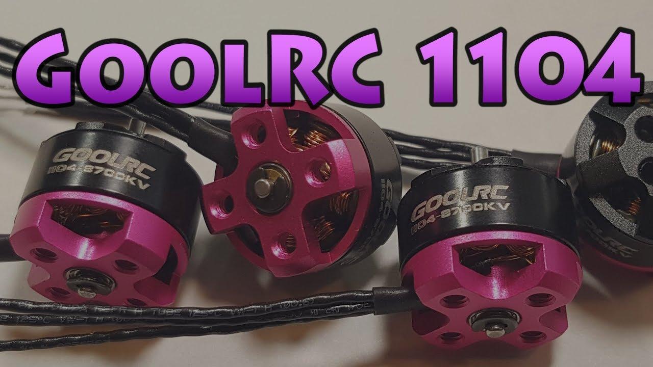GoolRC 1104 Motors + MATTYFLIP ?