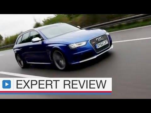 Audi RS4 Avant estate expert car review
