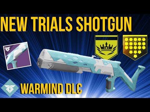 NEW TRIALS SHOTGUN! MOTION TO VACATE - WARMIND DLC - DESTINY 2