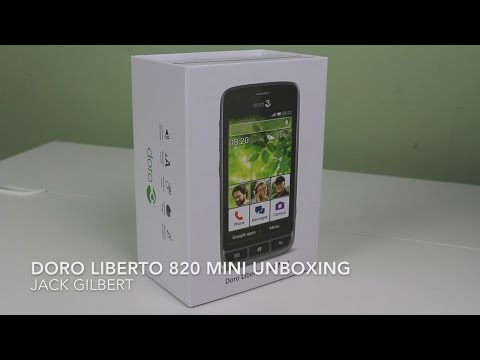 Doro Liberto 820 Mini - Unboxing