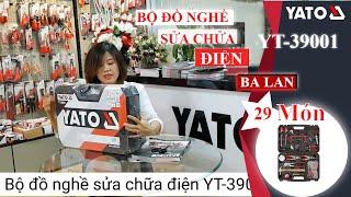 VŨ KHÍ TỐI ƯU CHO CÁC BÁC THỢ - BỘ ĐỒ NGHỀ SỬA CHỮA CHUYÊN DỤNG YATO YT-39001