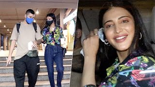 Shruti Haasan And Her Boyfriend Return To Mumbai After Trip To Chennai