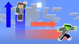 видео: Супер-БЫСТРЫЙ + супер-ПРЫГУЧИЙ, карта для двоих [Майнкрафт]