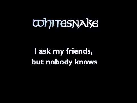 Whitesnake - Love Ain't No Stranger - Lyrics (HD)