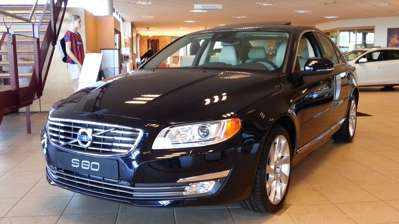 Volvo S80 2015 In Depth Review Interior Exterior - YouTube