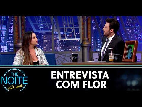 Entrevista com Flor  The Noite 280520