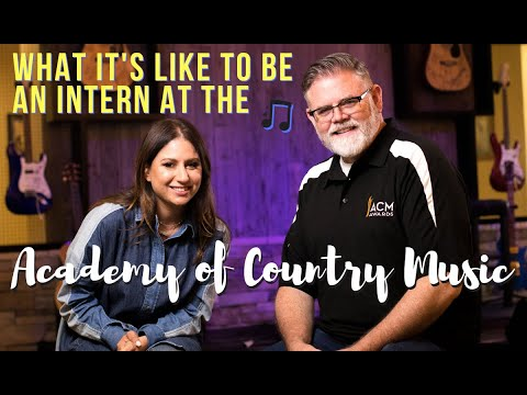 What It's Like To Be An Intern At Academy of Country Music