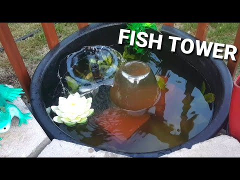 MAKING A FISH TOWER