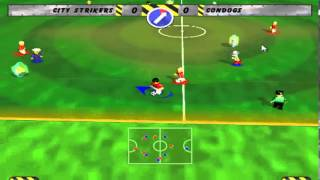 radical lego soccer mania gameplay
