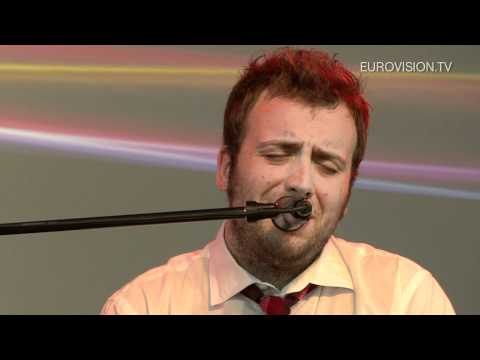 Raphael Gualazzi (Italy) - Interview in Dusseldorf (2011 Eurovision Song Contest)