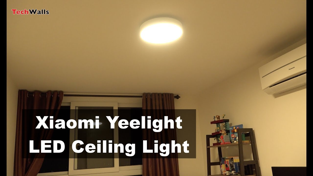 Xiaomi Yeelight Smart Led Ceiling Light Review Youtube