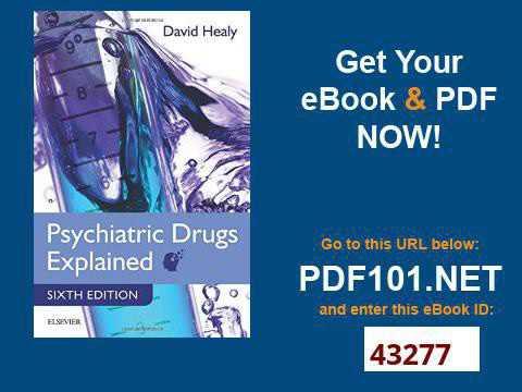 Psychiatric Drugs Explained, 6e