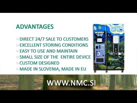 NMC   oil vending machine