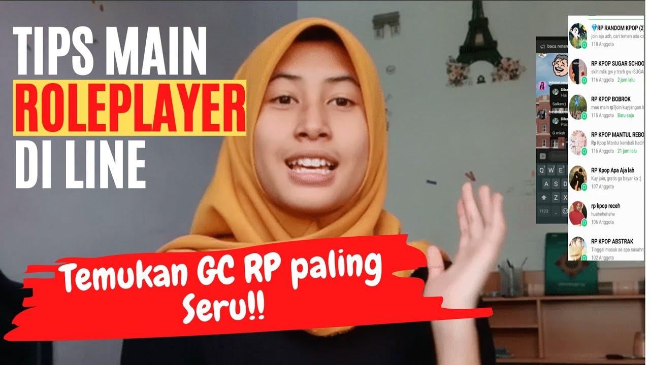 Viral Cara Bermain Rp Line Cara Main Gc Rp Role Player Di Line Youtube