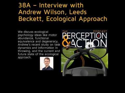 38A – Interview With Andrew Wilson, Leeds Beckett, Ecological Approach