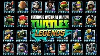 Черепашки ниндзя Легенды #202 ВСЕ ГЕРОИ игры Начало Турнира бой всех гиревой TMNT Legends