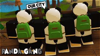 PANDA GANG CARRYING *FUNNY MOMENTS* IN DUNGEON QUEST ROBLOX
