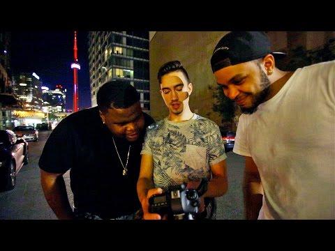 Shooting a Music Video - TORONTO