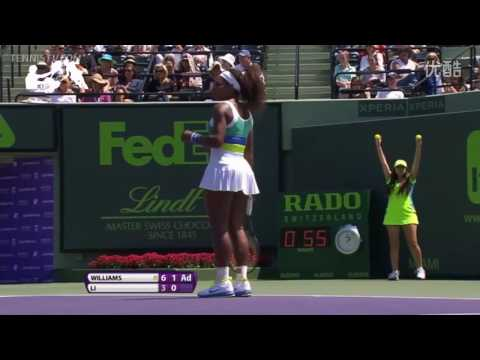 Serena Williams VS Li Na Highlight 2013 QF