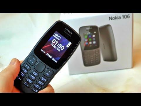 Nokia 106 (2018) – просто незаменима?