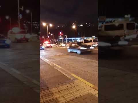 Isreali M.d.a Ambulance In Route To Carmel Hospital In Haifa