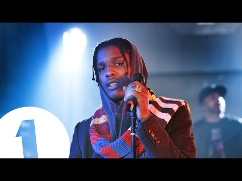 A$AP Rocky performs 'Electric Body' for Annie Mac