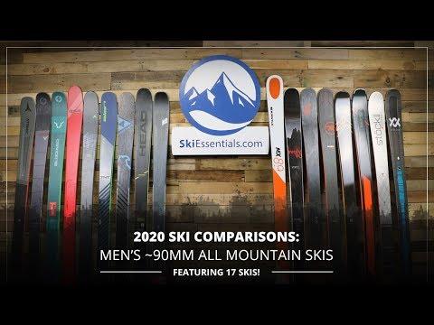 2020 Men's 90 Mm All Mountain Ski Comparison