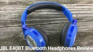 jbl e40bt bluetooth headphones review