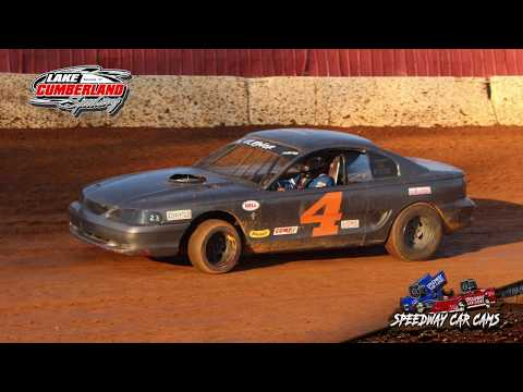 #4 Brandon Coffey - KDRA Mini Stock - 8-4-18 Lake Cumberland Speedway - In Car Camera