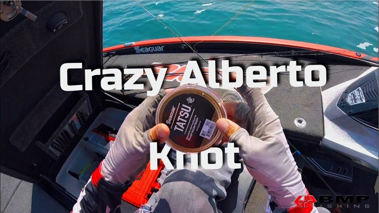 How to tie the crazy alberto knot like a ninja youtube how to tie the crazy alberto knot like a ninja ccuart Image collections