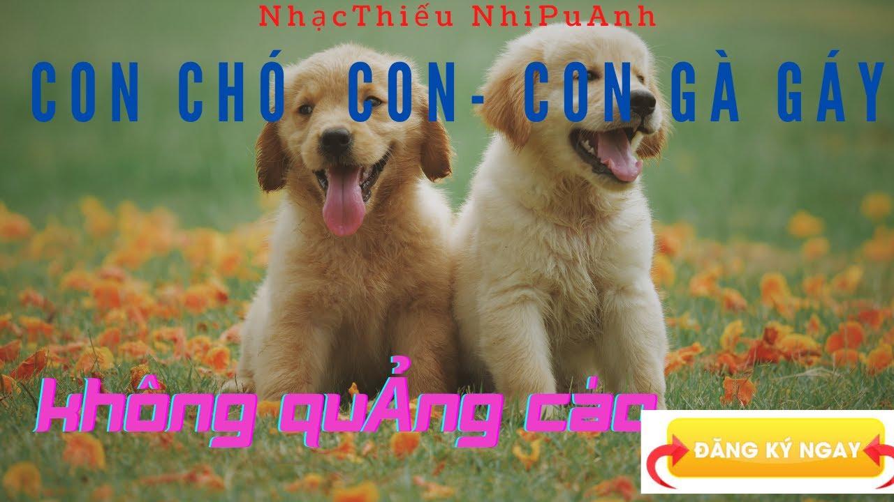 Con Chó Con . Con Gà Con . Nhạc  Không Quảng Cáo