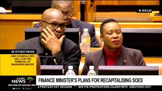 Analysis: Finance minister's plans for recapitalising SOEs