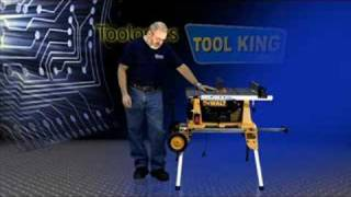 Dewalt Dw744xrs Table Saw With Rolling Stand