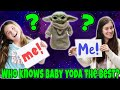 Who Knows Baby Yoda Best! Who Does Baby Yoda Love The Most?