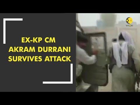 Pakistan Election 2018: Ex-KP CM Akram Durrani survives attack