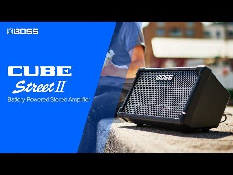 NEW BOSS CUBE STREET II - Battery-Powered Stereo Amplifier