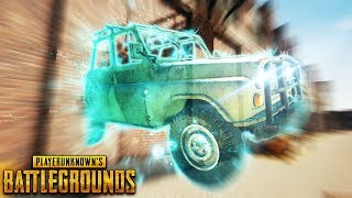 NEW Ghost Car..?! | Best PUBG Moments and Funny Highlights - Ep.167