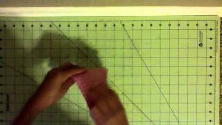 How To Make An Origami Cross :)