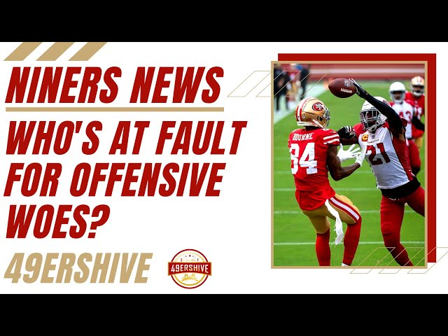 Niners News: Who's at Fault for Offensive Woes?