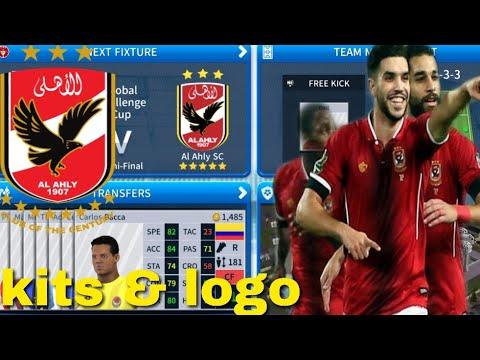 How To Create Al Ahly SC Team Kits Logo - Dream League ...