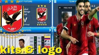 Het Maken van Al Ahly SC Team Kits & Logo | Dream League Soccer 2019