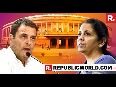 Defence Minister Nirmala Sitharaman Takes On Cong's 'HAL Card' | #RafaleDebate