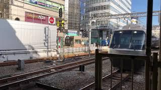 小田急30000形 EXEα はこね9号 箱根湯本行き 町田駅停車