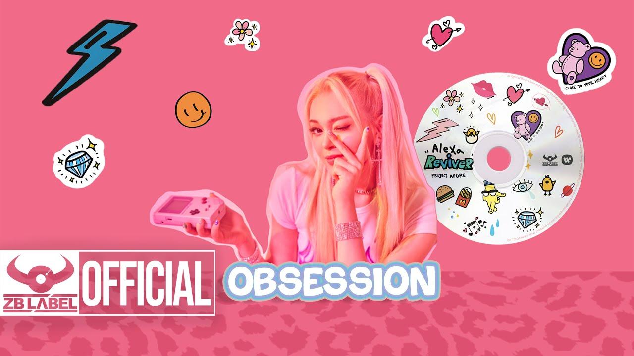 "AleXa (알렉사) – ""Obsession"" Lyric MV"