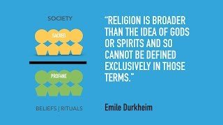 Are you the sacred or the profane? A summary of Durkheim's Sacred/Profane Dichotomy