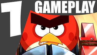Angry Birds Facebook Tournament PC Gameplay Review | Funny Games Online