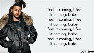 Gambar cover The Weeknd ft. Daft Punk - I Feel It Coming (lyrics)