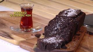 Şekersiz Glutensiz Kek