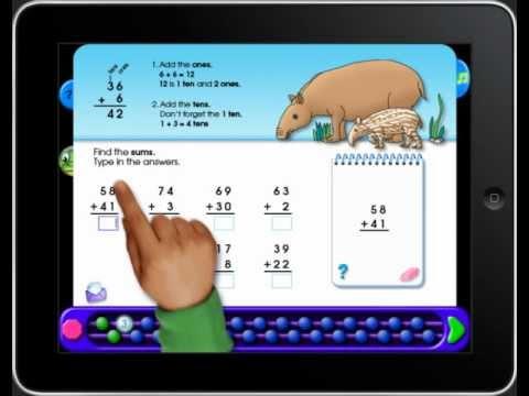 On-Track Math 3 iPad App - YouTube